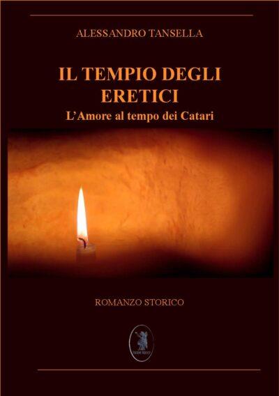 """Copertina del libro """"Il tempio degli eretici"""" di Edizioni Nisroch"""
