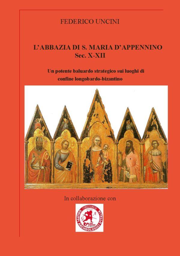 copertina abbazia di Santa Maria D'Appennino
