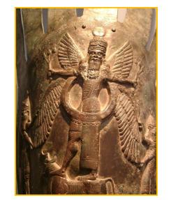 Immagine che rappresenta la semidivinità Apkallu