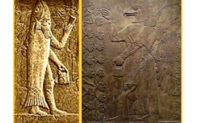 Alle origini di Nisroch: gli Apkallu e gli Annunaki