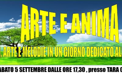 """""""Arte e Anima"""" a Recanati – 5 settembre 2020"""