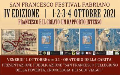 """Presentazione libro """"San Francesco, Pellegrino della povertà"""" a Fabriano"""